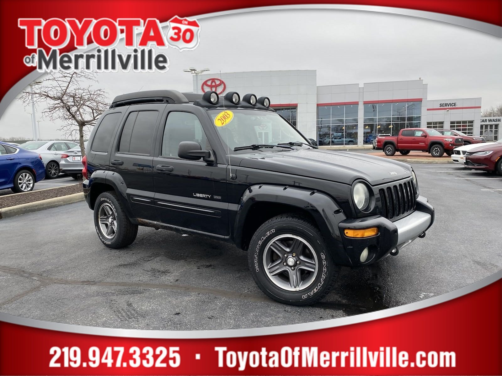 Pre-Owned 2003 Jeep Liberty Renegade