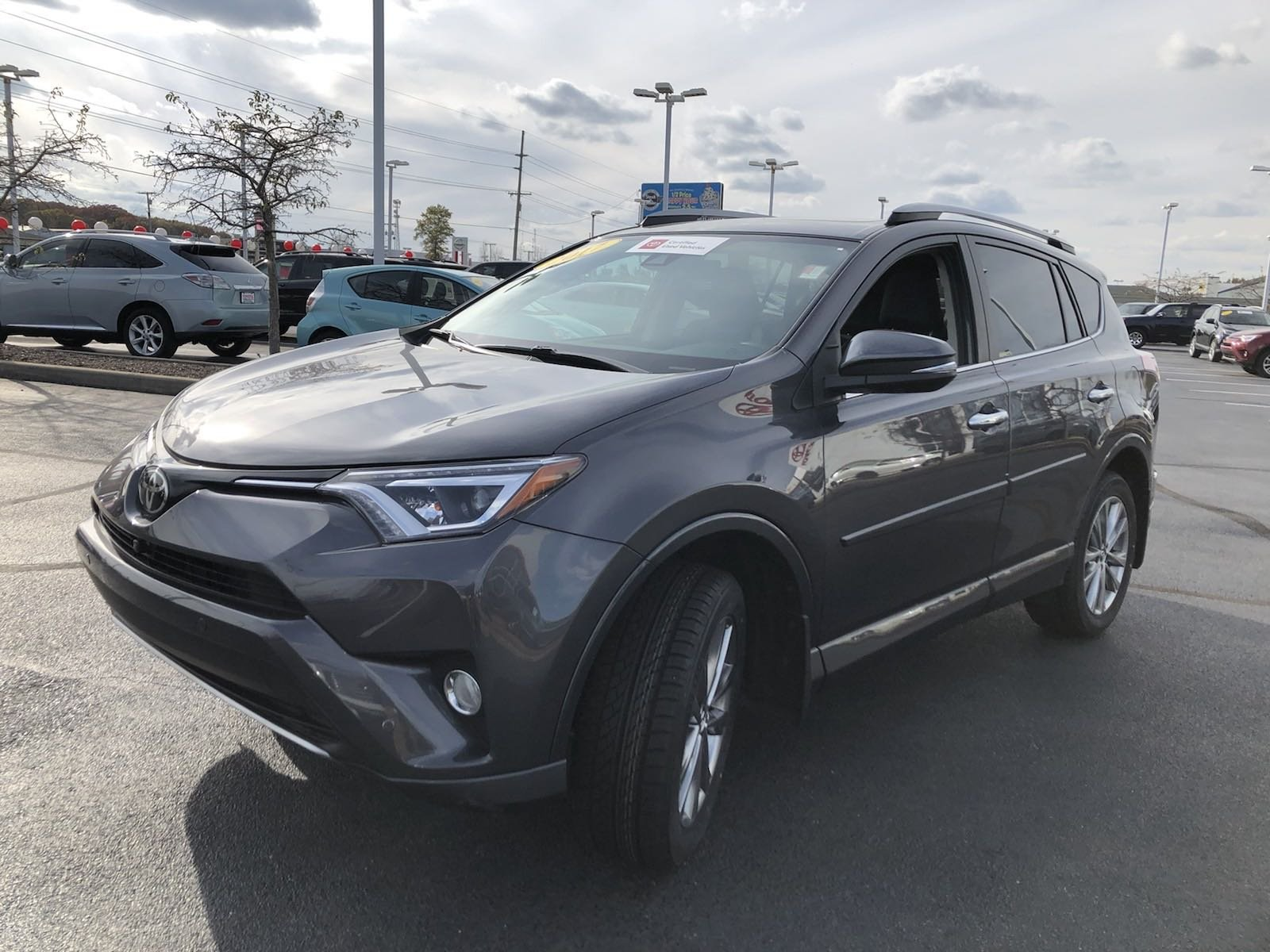 Certified Pre-Owned 2017 Toyota RAV4 Platinum
